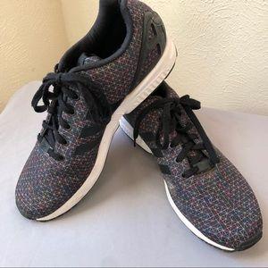 Adidas ZX Flux Torsion Running Shoe 13 Black White
